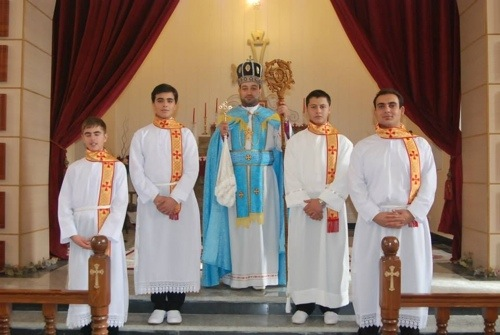 Four Sub-Deacons Ordained in Urmia, Iran